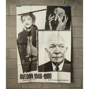 Richard Avedon 1948-1980 UC Berkeley Poster
