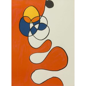 Lithograph, after Alexander Calder