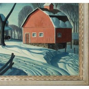 Dale Nichols (1904-1995) Painting,