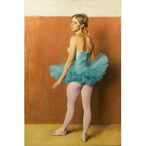 Jesse Corsaut, Portrait of a Ballerina Painting