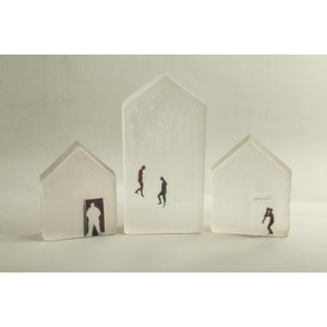 Three Art Glass Houses, Carol Lawton