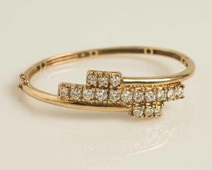 Diamond 14k Gold Bracelet