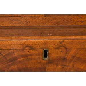 Queen Anne Mahogany Flat Top Highboy, Massachusetts, circa 1750