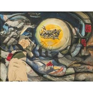 James Suzuki (Japan/California, b. 1933) Mixed Media