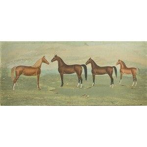 Quarter Horse Painting