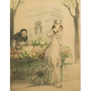 Louis Icart (1888-1950) Etching and Aquatint -
