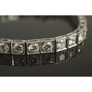 Diamond Platinum Bracelet