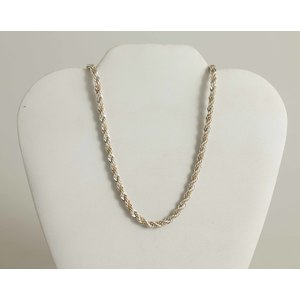 Tiffany & Co. Silver/18k Gold Necklace