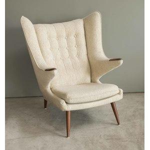 Papa Bear Chair, Attributed to Hans Wegner
