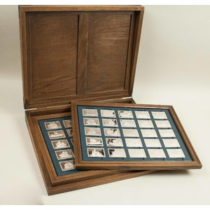 50 Sterling Silver Cased Ingots, 156 ozt.