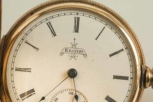 14K Elgin Hunting Case Watch