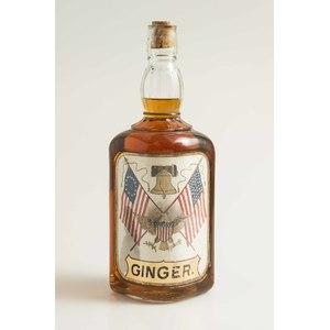 Label Under Glass Backbar Ginger Bottle