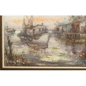 Colette Heldner (1902-1990) Painting,