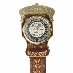 Coin Operated National Novelty Penny Scale