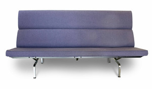 Charles & Ray Eames Sofa Compact For Herman Miller
