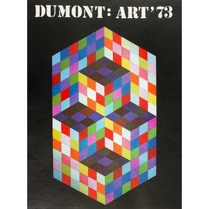 Dumont Art Print Calendar 1973