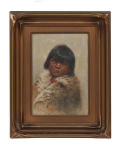 Grace Carpenter Hudson (1865-1937) Painting,