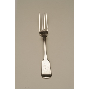 Jacks and Woodruff (1850-1854) Silver Dinner Fork