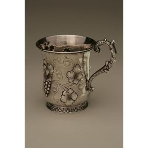 John W Tucker (1852-1886) Silver Mug