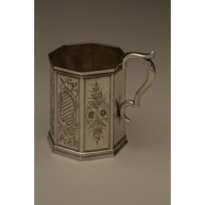 Joseph Brothers (1852-1859) Silver Mug