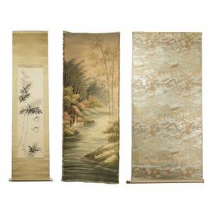 Japanese Fabric & Scrolls