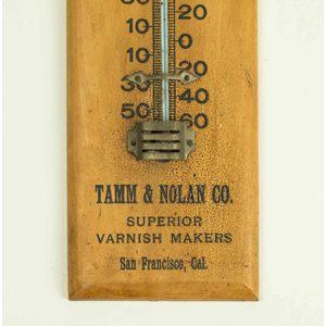 Tamm & Nolan Advertising Thermometer, S.F., Calif.