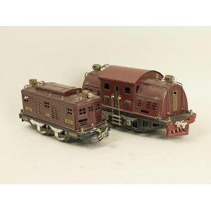 Two Lionel Standard Gauge Locomotives