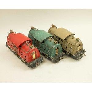 3 Lionel Std Gauge #10 Locomotives