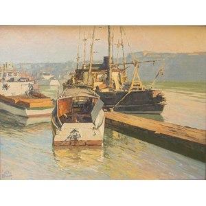Irion Shields (California, 1895-1983) Painting,
