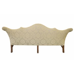 Philadelphia Double-Peaked Chippendale Sofa, ca. 1770
