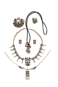 Assorted Zuni Jewelry