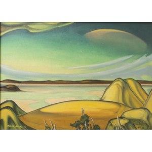 Tarmo Pasto (California, 1906-1986) Painting,