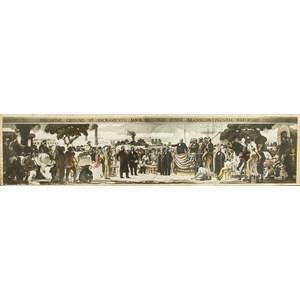 John McQuarrie (California, 1871-1944), Artist's Palette For Sacramento Depot Mural