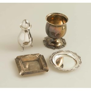 Assorted Sterling Silver Items, 39 ozt FR3SH