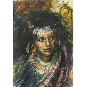 Jerald Silva (Sacramento, b. 1936) Watercolor