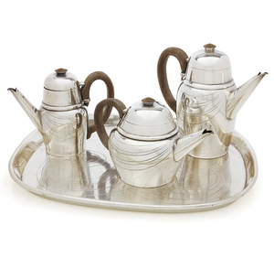 Sterling Silver Coffee/Tea Service, William Spratling (1900-1967), 178 ozt.