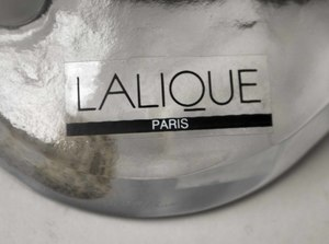 """Lalique Clear and Frosted """"Deux Danseuses"""""""