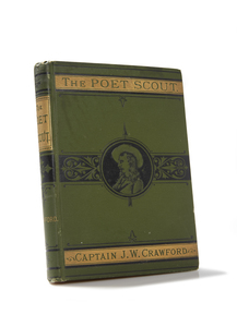The Poet Scout, Captain Jack Crawford, Author Signed