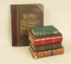 Five Civil War Histories and a book of Southern War Poetry