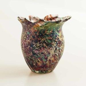 Tim Lazer (Sacramento, 20th c) Art Glass Vase