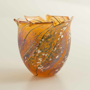 Tim Lazer (Sacramento, 20th c) Art Glass Vase