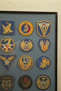 Us Army Air Force And Usaf Bullion Embroidered Wings And