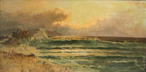 Frank Wallis (American, b. 1897) Painting