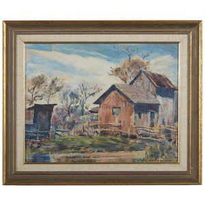 Lawrence Hosmer (1895-1984) Painting,