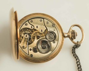 Georges Favre Jacot 14k Pocket Watch