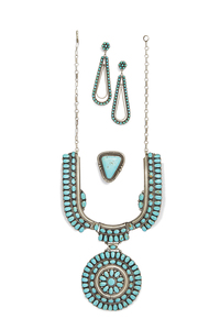 Southwest Sterling and Turquoise Jewelry