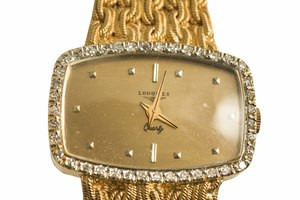 Longines Diamond 18k Watch