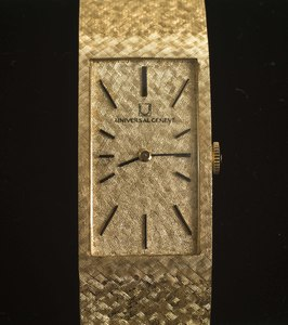 14K Universal Geneve Watch