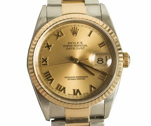 Men's Datejust Oyster Perpetual Rolex Watch