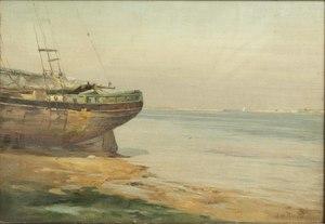 John Raught (1857-1934) Painting